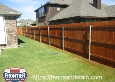 Dallas-Fort-Worth Fence Staining & Cleaning Frontier Fence and Stain