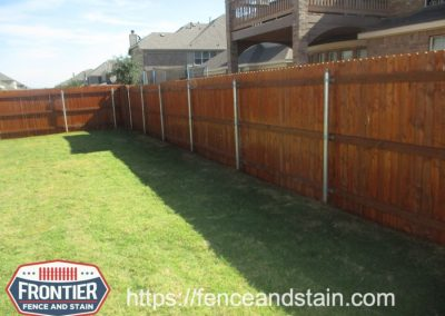 Dallas TX Fence Staining & Cleaning Frontier Fence and Stain
